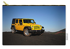 Jeep Rubicon In The Cinders Carry-all Pouch