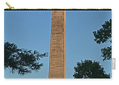 Carry-all Pouch featuring the photograph Jefferson Davis Monument - Fairview Kentucky 001 by George Bostian
