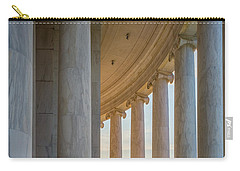 Jefferson Memorial Dawn Carry-all Pouch by Inge Johnsson