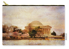 Jefferson Memorial Just Past Dawn Carry-all Pouch