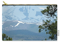Carry-all Pouch featuring the photograph Jefferson Pines by Laddie Halupa