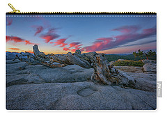 Carry-all Pouch featuring the photograph Jeffrey Pine Dawn by Rick Berk