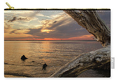Jekyll Driftwood At Sunset Carry-all Pouch
