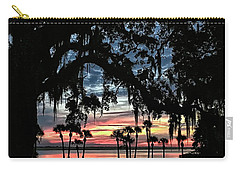 Jekyll Island Georgia Sunset Carry-all Pouch