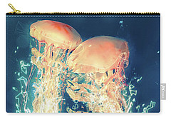 Jellies Carry-all Pouch by Kenneth Armand Johnson