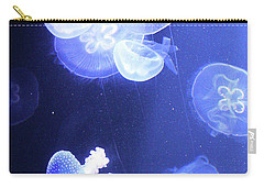 Jelly Fish At Parisian Aquarium Carry-all Pouch
