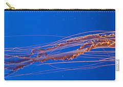 Jelly Fish Carry-all Pouch by Darcy Michaelchuk