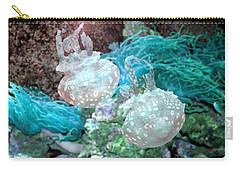 Jellyfish In Aquarium Carry-all Pouch