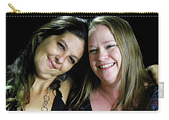 Jennifer Harell Lopez And Monica Poucher Carry-all Pouch