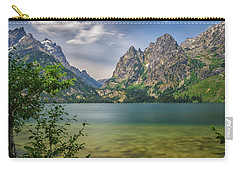 Jenny Lake In The Grand Tetons Carry-all Pouch