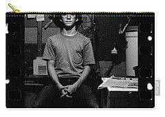 Self Portrait, In Darkroom, 1972 Carry-all Pouch