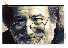 Jerry Garcia Artwork  Carry-all Pouch by Sheraz A