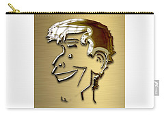 Carry-all Pouch featuring the mixed media Jerry Lewis Tribute by Marvin Blaine