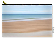 Jersey Coast Seascape Abstract Carry-all Pouch by Gill Billington