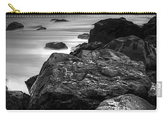 Jersey Shore At Night Carry-all Pouch by Paul Ward