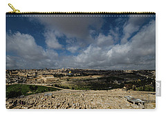 Jerusalem From Mount Of Olives Carry-all Pouch