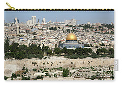 Jerusalem Skyline Carry-all Pouch