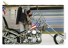 Jessica Alba, Captain America, Easy Rider Carry-all Pouch