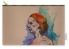 Jessica Carry-all Pouch by Ray Agius