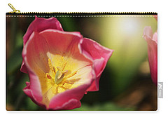 Carry-all Pouch featuring the mixed media Jessica by Trish Tritz