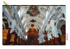 Jesuit Church Of Lucerne Carry-all Pouch