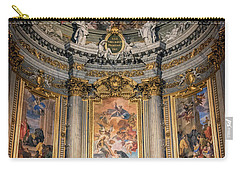 Carry-all Pouch featuring the photograph Jesuit Church Rome Italy by Joan Carroll