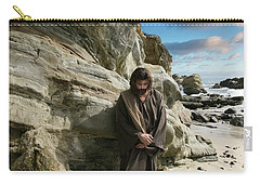 Jesus Christ- I Have Heard Your Prayer And Seen Your Tears I Will Heal You Carry-all Pouch