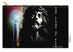 Jesus Christ The Light Of Life Carry-all Pouch