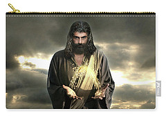 Jesus In The Clouds With Radiant Power Carry-all Pouch
