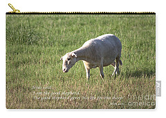 Jesus The Good Shepherd Carry-all Pouch by Ella Kaye Dickey