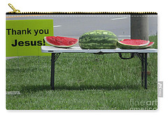 Jesus Watermelon Carry-all Pouch