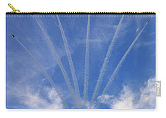 Jet Planes Formation In Sky Carry-all Pouch