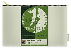 Jethro Tull Signed Poster Carry-all Pouch