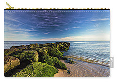 Jetty Four Mossy Rocks Carry-all Pouch
