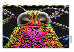 Jewel Beetle 3x Carry-all Pouch