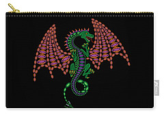 Jeweled Dragon Carry-all Pouch