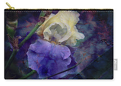 Jeweled Iris Carry-all Pouch by Toni Hopper