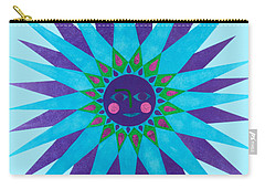Jeweled Sun Carry-all Pouch