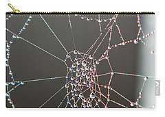 Jeweled Web Carry-all Pouch