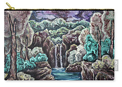 Jewels Of The Valley Carry-all Pouch by Cheryl Pettigrew