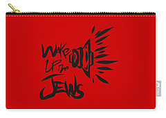 Jews Wake Up Carry-all Pouch
