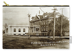 Jim Bardin Hospital The Hospital Was Located On The E Side Of Main Street  Circa 1910 Carry-all Pouch