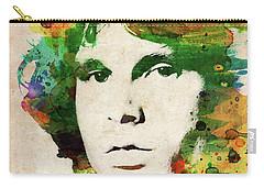 Jim Morrison Colorful Portrait Carry-all Pouch