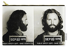 Jim Morrison Mugshot Carry-all Pouch