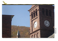 Jim Thorpe Rooftops Carry-all Pouch by Christina Verdgeline
