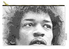 Jimi Hendrix - Cross Hatching Carry-all Pouch