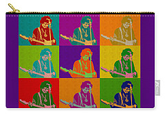 Jimi Hendrix In The Style Of Andy Warhol Carry-all Pouch