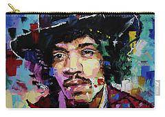 Jimi Hendrix Portrait II Carry-all Pouch
