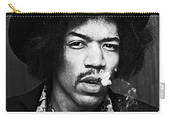 Jimi Hendrix Carry-all Pouches