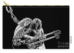 Jimmy Page And Robert Plant Collection Carry-all Pouch